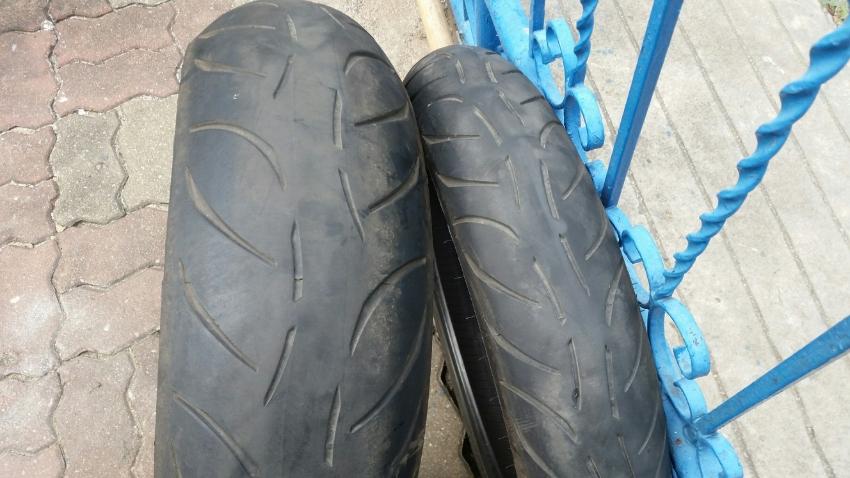 Metzeler Sportec M7 RR tyres for sale !