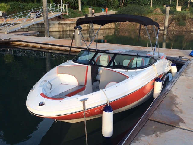 SeaRay 190 Sport 2014 Incl. New Twin Axel Trailer