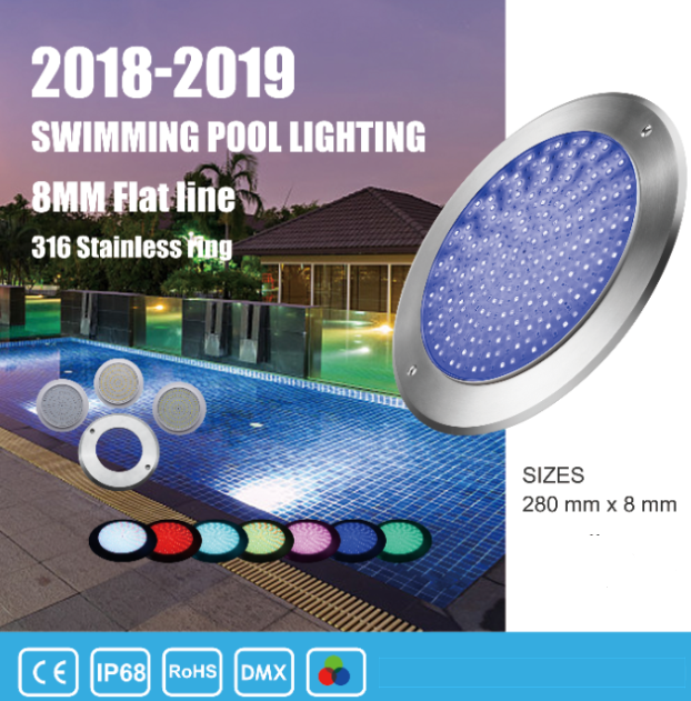 Led Pool Lights RGB