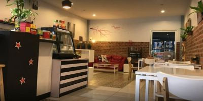 Cozy Cafe in Phuket Town at Busy Location