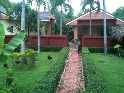 Private 3 Bed bungalow in compound, Buakhao, Kuchinarai, Kalasin.