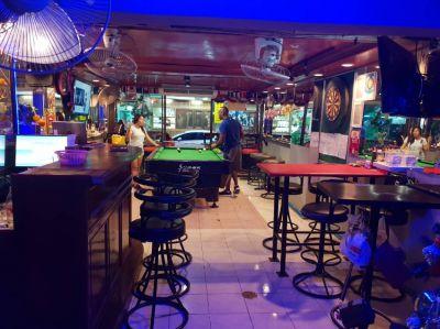 Bar near Beach and Walking Street