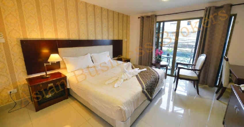1205020 40 Room Budget Hotel with Massage 3rd Road Pattaya