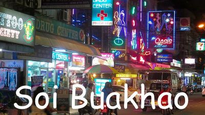 large Double unit Bar with 9 Rooms in Best Area of Soi Buakhao