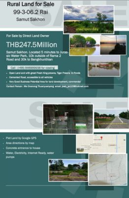 Land with Water farm for sale