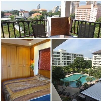 77qm2 condo wongamat/nalua soi 16 near beach and taxiroute,not far out