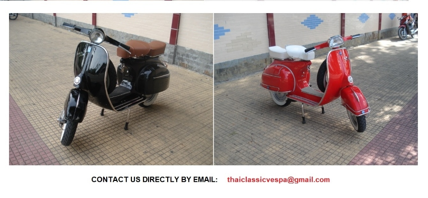 Fully Restored Classic   Vespa VBB and VBC  for sale