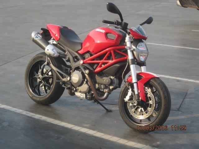 Ducati 796 Corsa Stripe