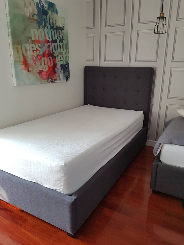Single Bed by Quattro Design, including Omazz Mattress