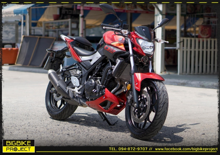 Sell Yamaha MT03 model15 with warranty