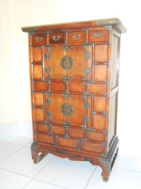 Beautiful  old wooden tea cabinet