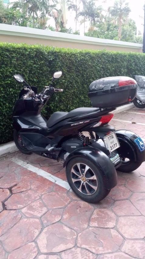 Honda PSX-150 tricycle
