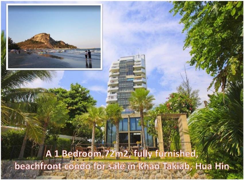 Absolute beachfront condo #Khao Takiab Hua Hin