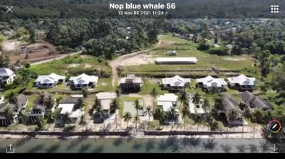 5 Rai of prime beachfront land