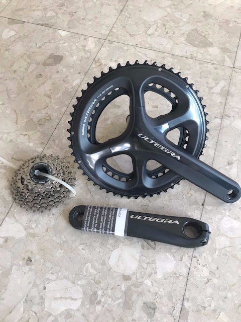 Shimano Ultegra Chainset and Cassette