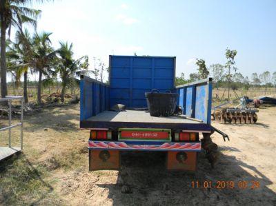 SUGAR CANE - Farm Trailer 4 ton dump