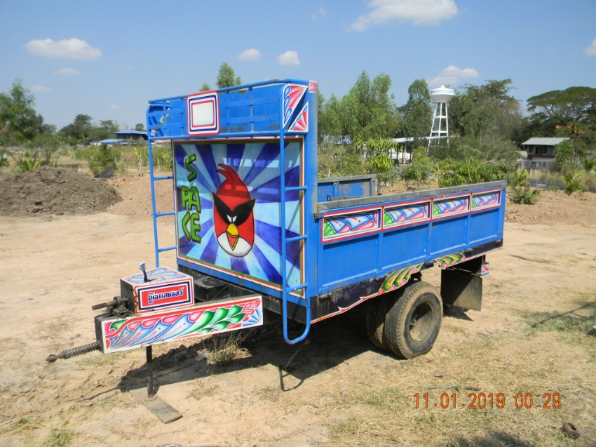 SUGAR CANE - Farm Trailer 4 ton Tipper