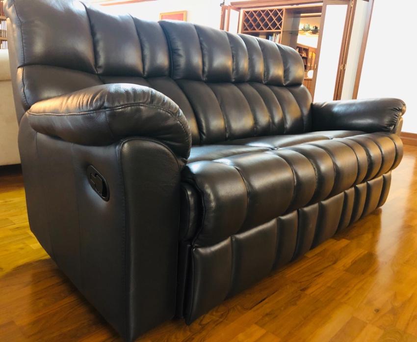 Lorenzo Leather Recliner Sofa