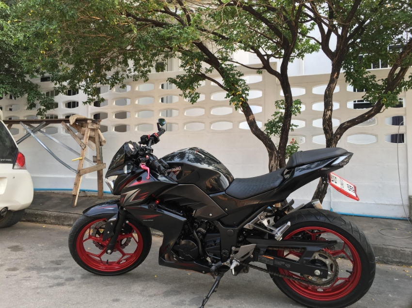 Kawasaki Z300 => December 2016!!! Reduced to 85.000 Thb. ONLY!!!