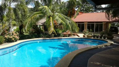 Sale Villa with land, beautiful garden, swimming pool Udon Thani