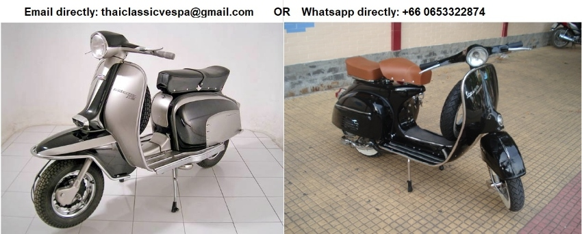 Classic 1960's Lambretta and Vespa VBB and VBC for sale
