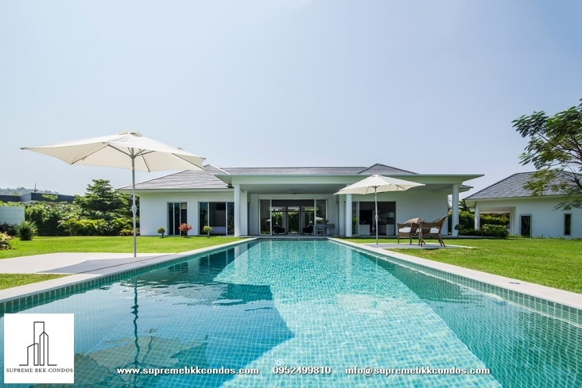 Ultimate private contemporary Private Pool Villa for sale