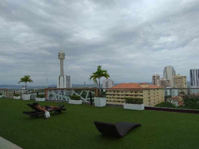 Studio room 31 sqm., 4 Fl. with sea view in Water Park