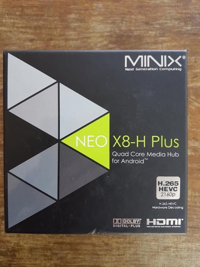 MINIX X8-H Plus Android box.
