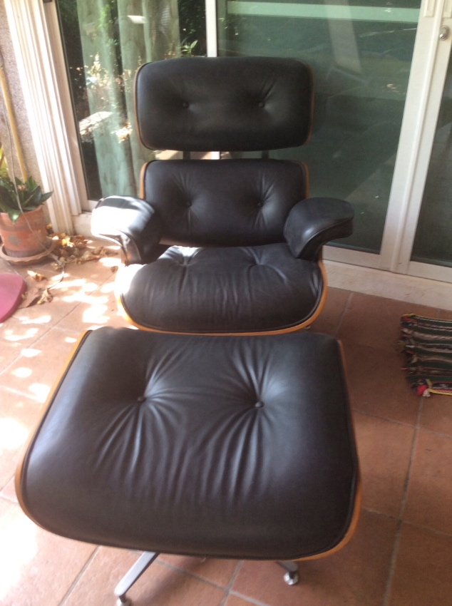 European imported chair with rest