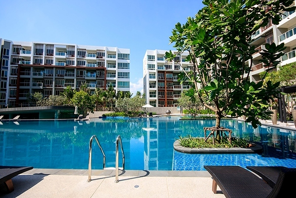 Luxury 1 Bed Condo, 250 Mts from the beach #Khao Takiap Hua Hin