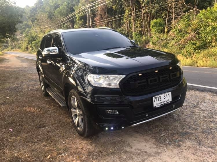 Ford Everest Titanium + , the real topmodel 2017 reduced 1290000