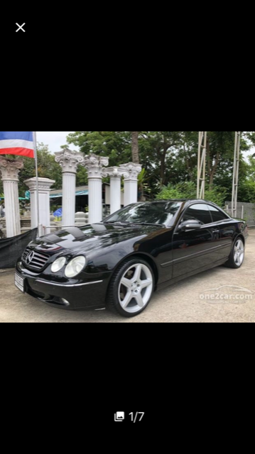 Mercedes CL 500 Coupe'