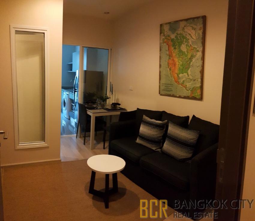 One Bedroom Condos For Rent: Centric Ratchada Huaikhwang Condo Fully Furnished 1