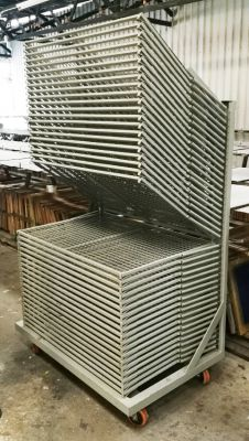 Drying furniture for prints / posters - 40 trays