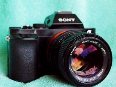 Canon FD 50mm f/1.2 MF Lens (Sony, MFT, Nikon 1)