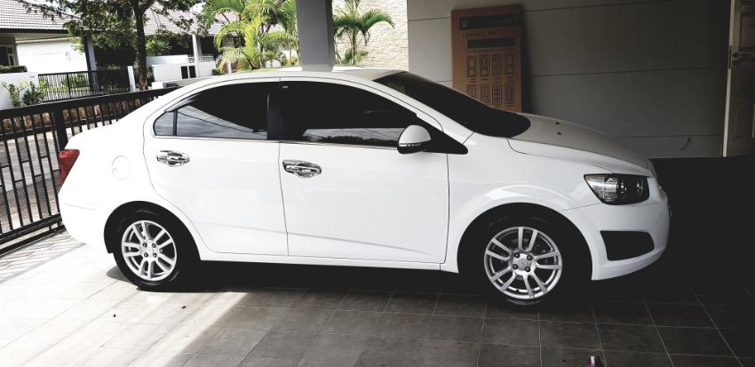Chevrolet Sonic 1.6 LTZ top model 43xxxkm.