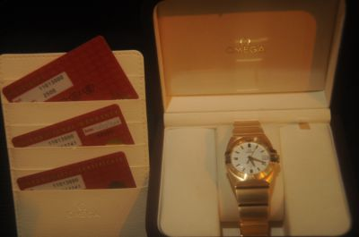 Omega Constellation Double Eagle Men's watch