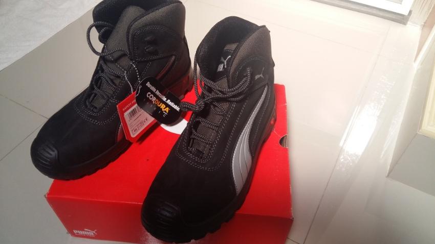 Puma Safety Boots Black