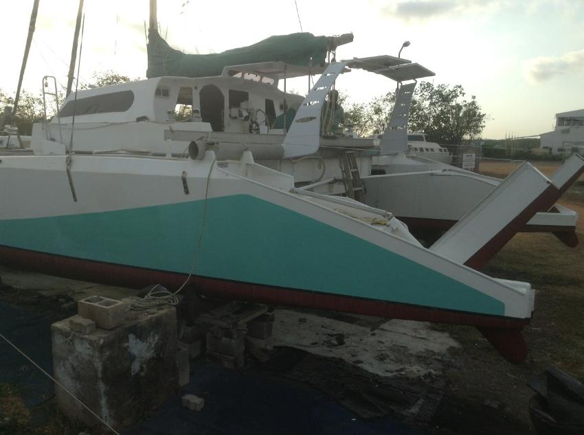 13.5m sailing catamaran