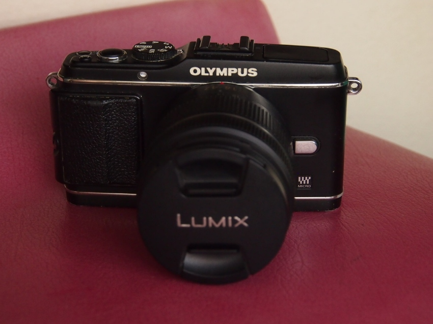 Olympus E-P3 Mirrorless MFT camera body