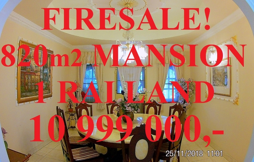 820m2 Mansion Villa Garden Swimming pool Firesale Bargain FINANCING