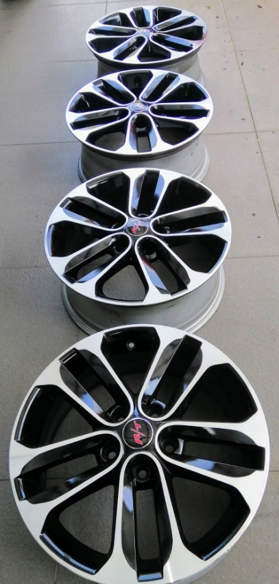 NEW WHEELS ,17'' 5 X 114 , ET 47     9,999 BAHT