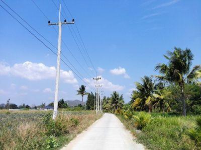 Perfect Plot For Small Home Development 6-0-49 Rai Hin Lek Fai