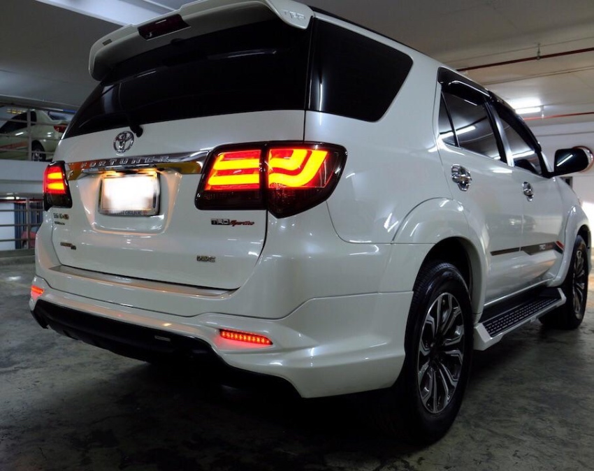 Toyota Fortuner TRD Sportivo With Many extras
