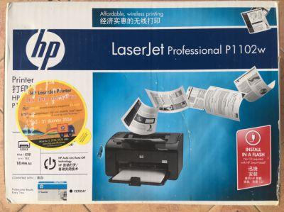 Printer Laserjet P1102w