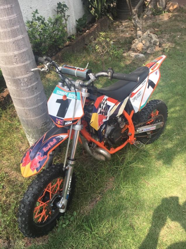 KTM 50SX - Kids Moto-X Bike