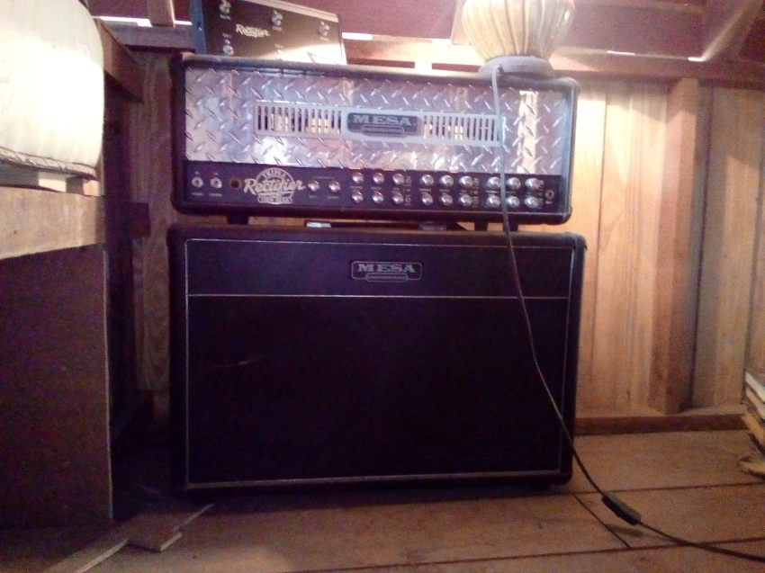 Mesa Boogie Triple Rectifier 150W with cabinet