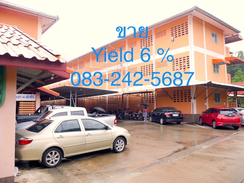 Apartment for sales Yield 6 % near Chiangrai International Airport