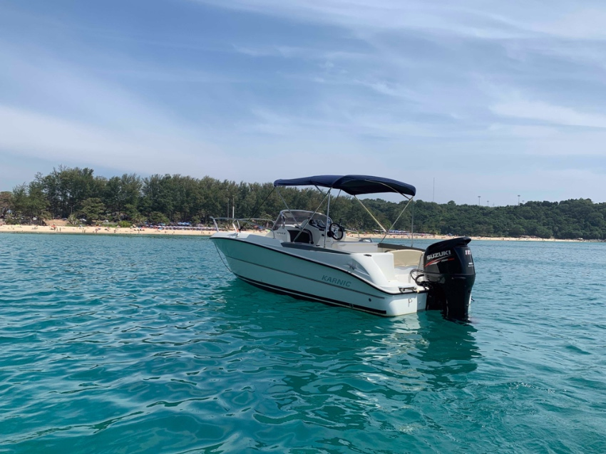 Boat 21 feet in excellent condition, good price for quick sale