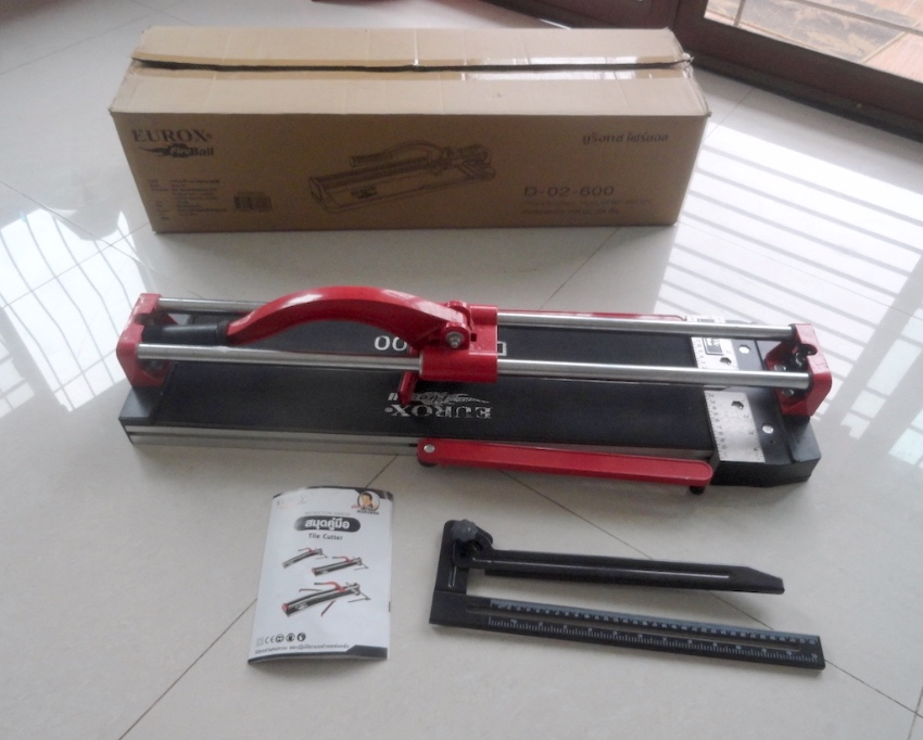 New Tile Cutter with Laser